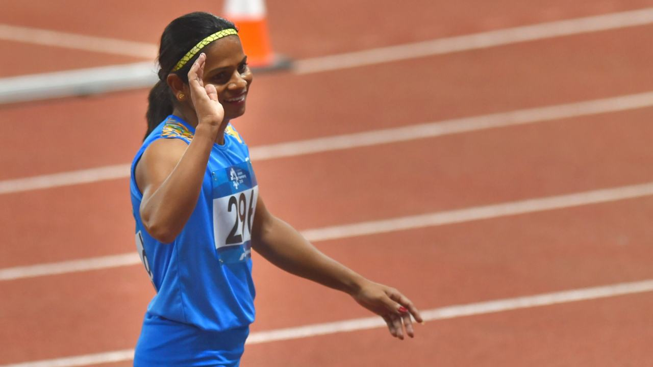 Dutee Chand | Women's 100m athletics | Silver (Image: PTI)
