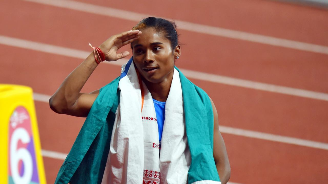 Hima Das | Women's 400m final athletics | Silver (Image: PTI)