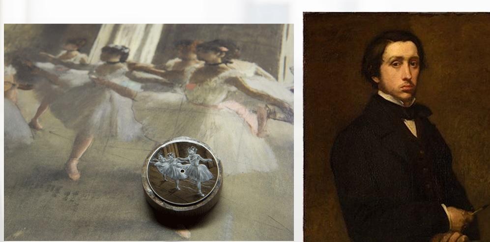 Answer: Vacheron Constatin's and Edgar Degas