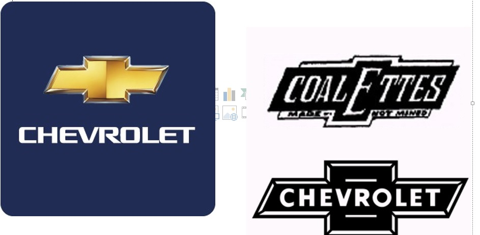 Answer: The Chevrolet 'bowtie' logo