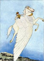 Q6. Which brand gets its name from the winged horse of Greek mythology?