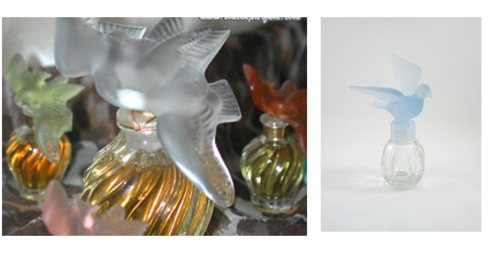 Q8. Who is the designer of this famous 'bottle with doves'? It has a couple of doves fluttering above the stopper as a symbol of love and tenderness and was created in 1951?