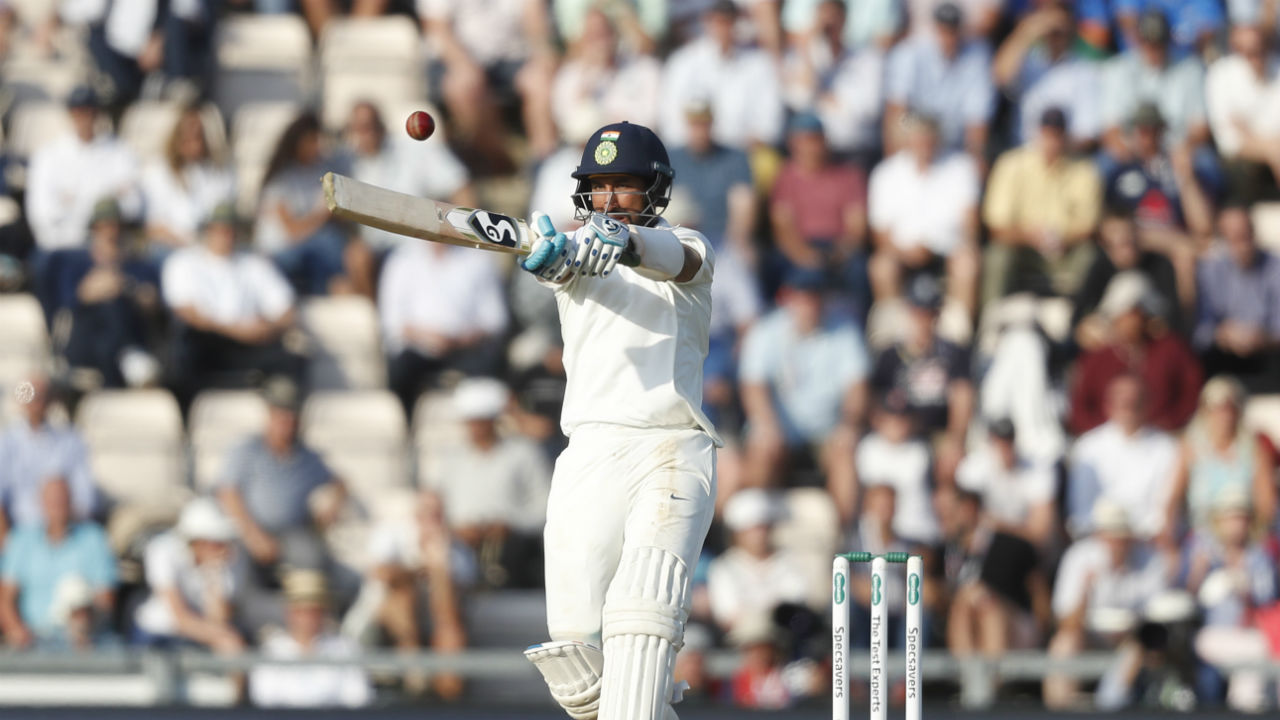 After completing his century, Pujara shifted gears as he scored quick runs to give India a handy first innings lead of 27 runs. He got a valuable support from Jasprit Bumrah, who scored 6 runs off twenty four balls. Pujara remained not-out on 132 runs off 257 balls as India were bowled out for 273. (Image - AP)