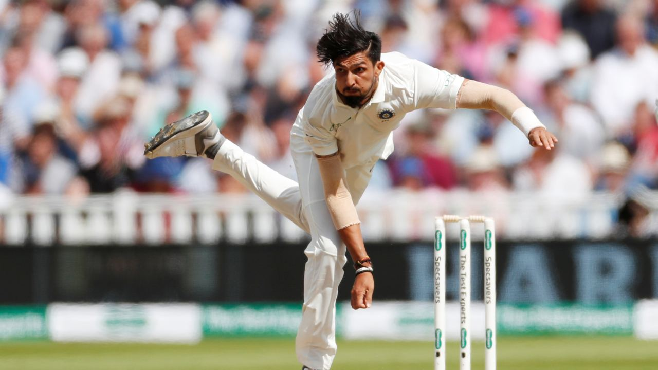 Ishant Sharma in action at the First Test between England and India at Edgbaston, Birmingham, Britain (REUTERS)