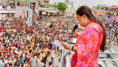 Ashok Gehlot 'afraid' of Vasundhara Raje's popularity, trying to disrupt her yatra: Rajasthan BJP