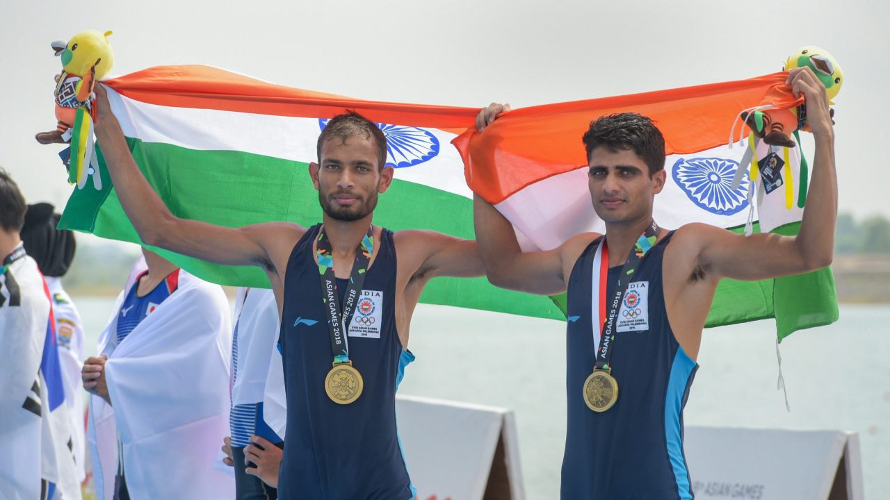 Rohit Kumar and Bhagwan Singh | Men's Lightweight Double Sculls | Bronze (Image: PTI)