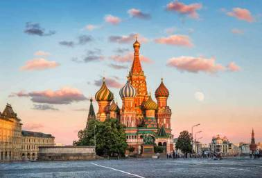 Head to Russia for an enthralling experience