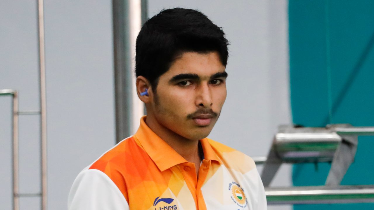 Saurabh Chaudhary | Gold (10m Air Pistol) | Saurabh won a gold medal on debut at the Asian Games 2018 and followed that performance with a gold at the Youth Olympics. The 16-year-old dominated the final, shooting 244.2 and had a staggering 18 scores of 10 and above in the eight-man finals. (Image: AP)