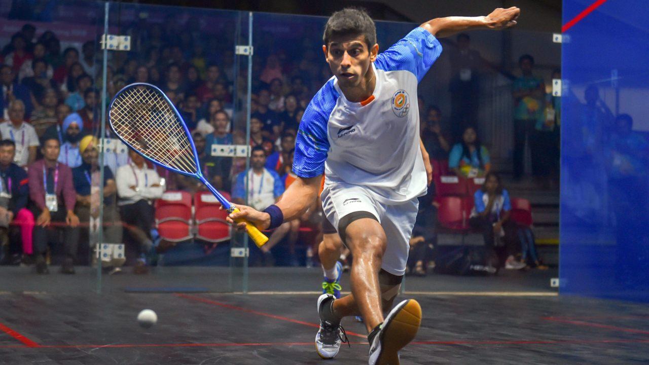 Saurav Ghosal | Men's Singles Squash | Bronze (Image: PTI)
