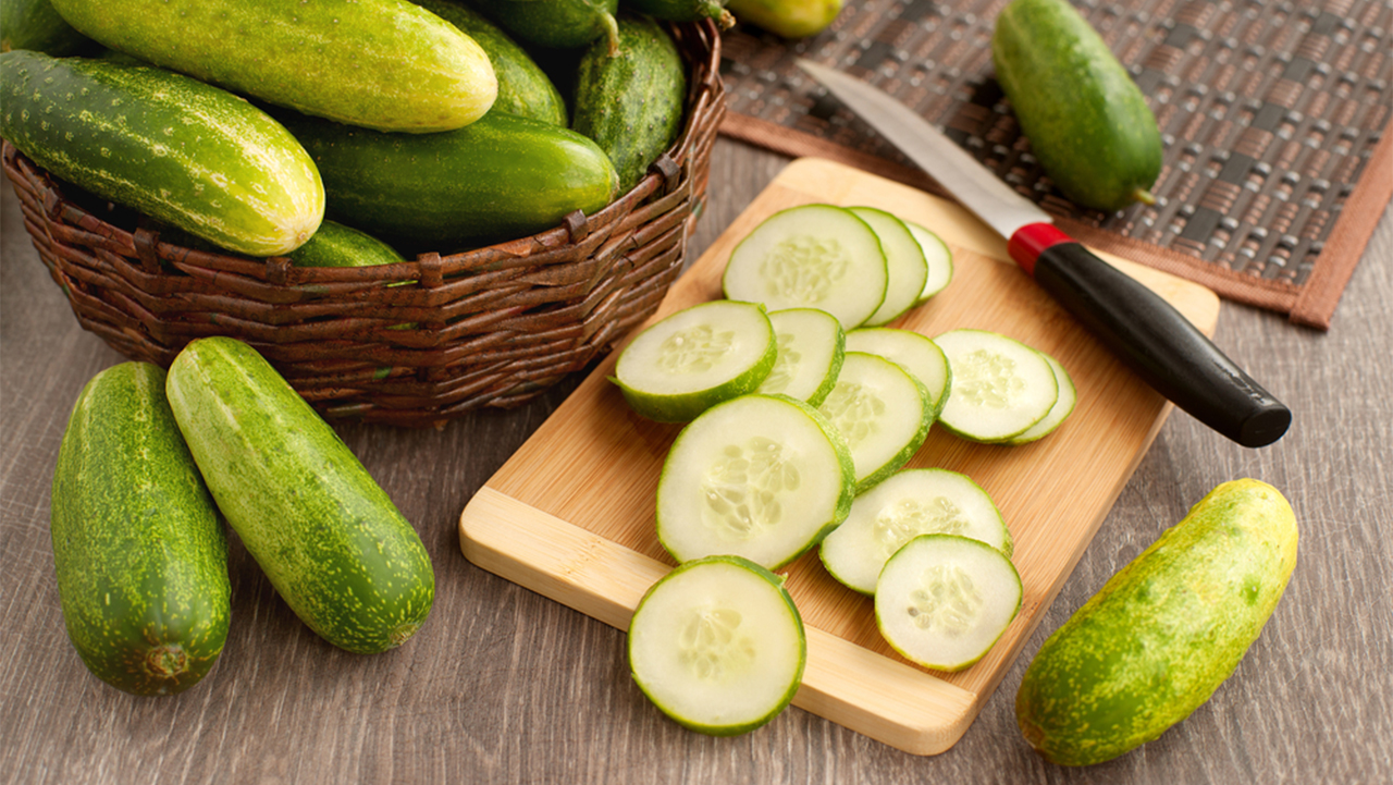 Cucumbers: Apart from keeping you cool, cucumbers can lower stress levels and anxiety. (Image: Shutterstock)