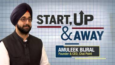 Start, Up and Away:  A tea-time conversation with Chai Point's Amuleek Bijral