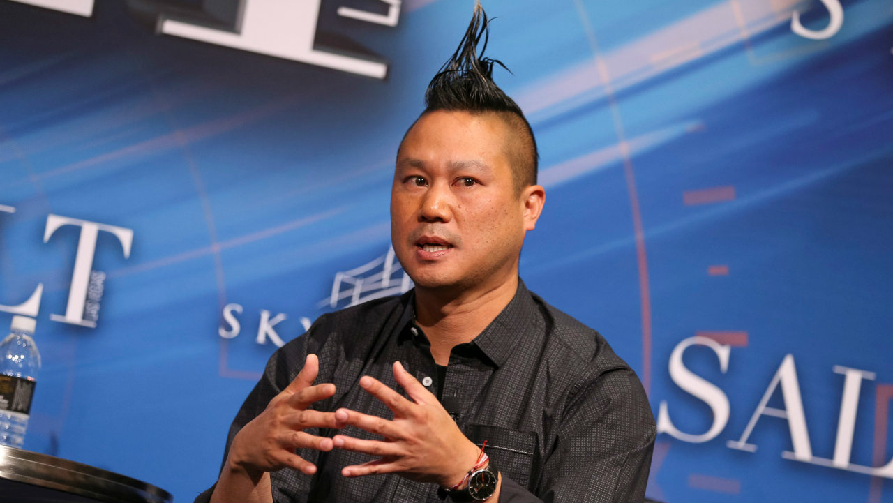 Answer: Zappos (Pictured here is Zappos CEO Tony Hsieh. Image: Reuters)