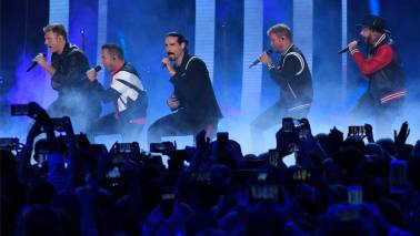 14 injured after structure collapses at Backstreet Boys concert venue in Oklahoma