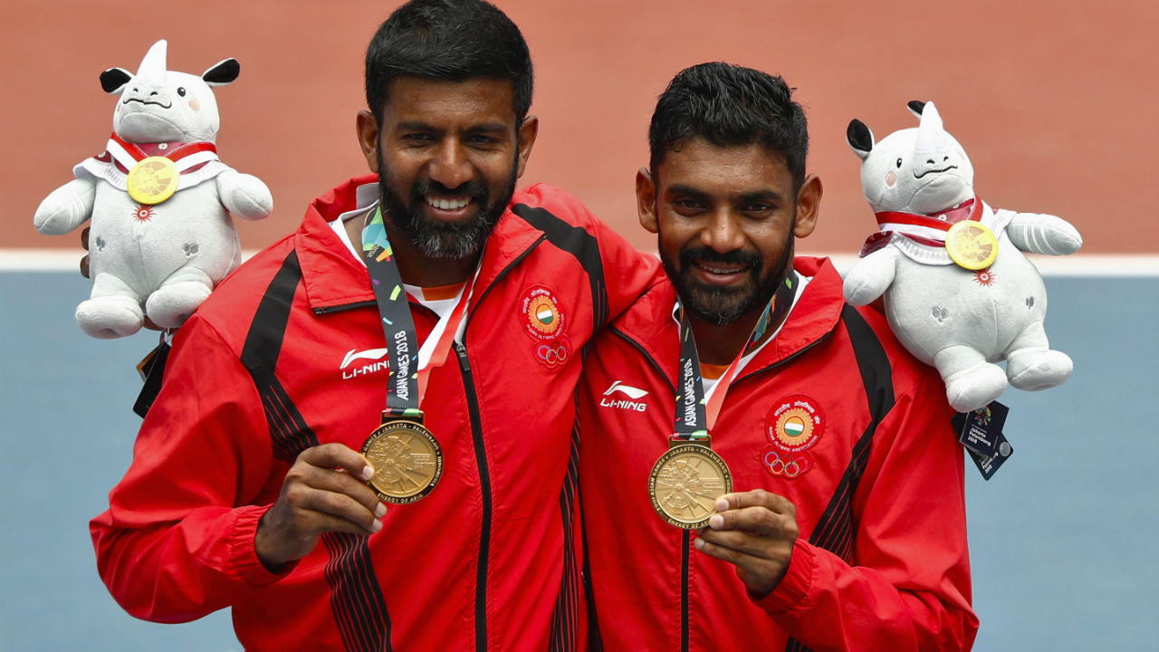 Rohan Bopanna and Divij Sharan | Men's Doubles | Gold (Image: Reuters)