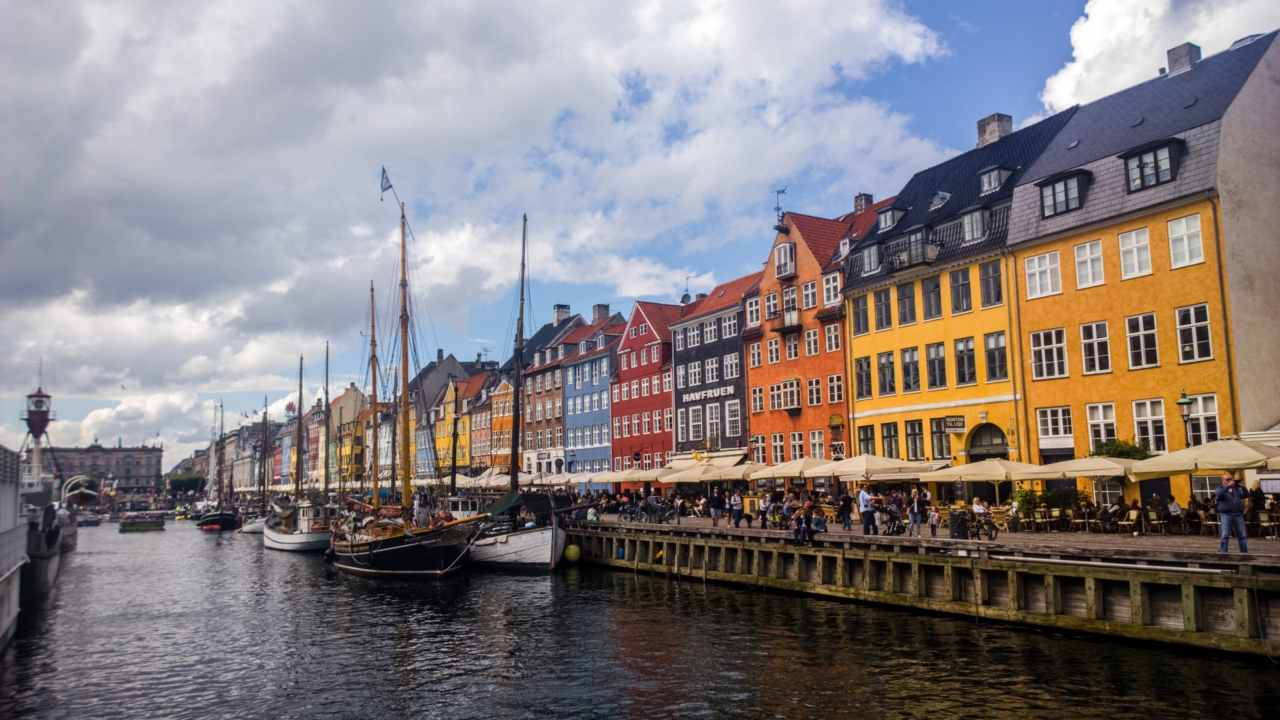 09) Copenhagen, Denmark | The capital of Denmark and the country's most populous city is one of the only two European cities to make it to the top 10 in the EIU's list with a score of 96.8 percent. (Image: Public domain pictures)