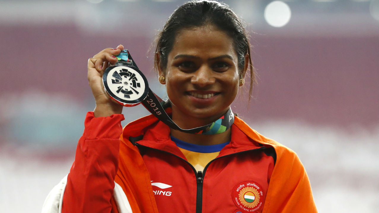 Dutee Chand (Women's 100m & 200m) | After winning silver in the women's 100m and 200m events at the 2010 Asian Games. Dutee was banned from participating in the 2014 edition due to the hyperandrogenism policy of the International Athletics Federation. The policy was used to exclude women athletes from competing on the grounds that women with hyperandrogenism would hold an unfair advantage. Dutee went up against the controversial rule and after winning her appeal against the policy before the Court of Arbitration for Sports, she returned to the games to win the silver medal in the women's 200m event. (Image - Reuters)