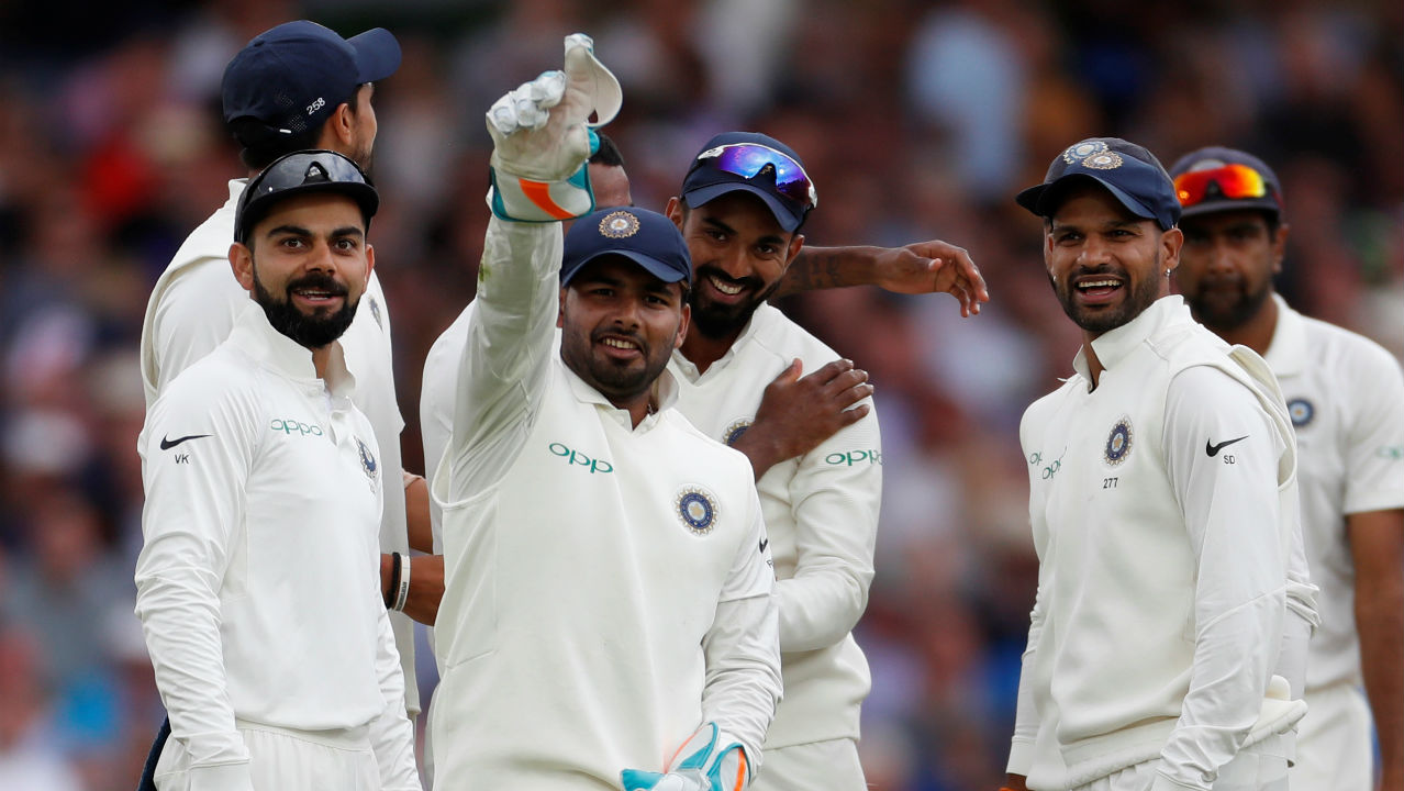 Rishabh Pant had a field day behind the stumps as he became the first Asian wicket-keeper to claim 5 catches in an innings on Test debut. (Image – Reuters)