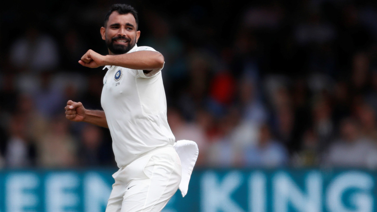 Shami was the pick of the bowlers as he struck a double-blow dismissing both Root and later Buttler just before lunch. Buttler and Bairstow had stitched together a promising 42-run partnership and were looking dangerous, but Shami caught Buttler lbw in the 32nd over. (Image – Reuters)