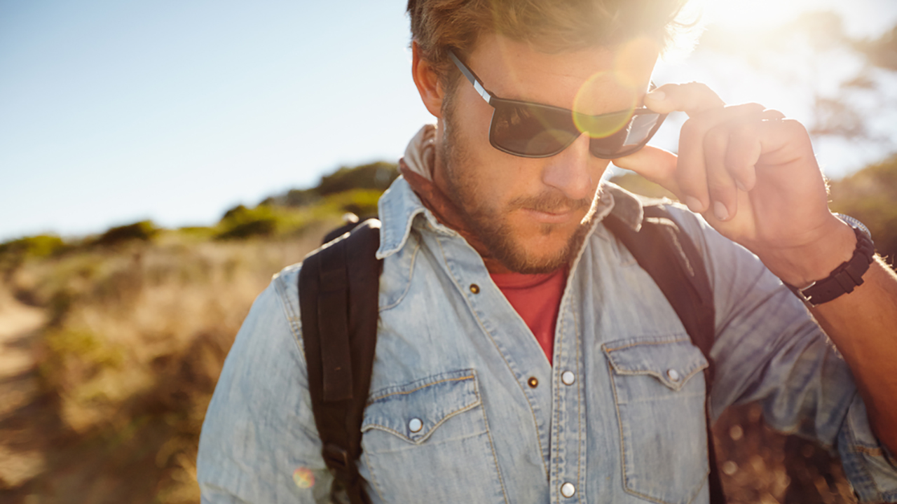 Sunglasses: You must wear sunglasses to protect your eyes from harmful UV rays. Also, wear protective eyewear while doing sporting activities. Make sure you wash your hands before you touch your eyes or remove lenses. (Image: Shutterstock)