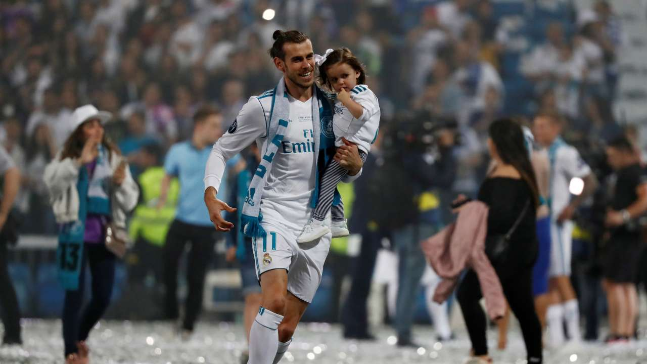 Answer: Gareth Bale has filed an application at the Intellectual Property Office to trademark a logo depicting his heart-shaped celebration with his No 11 in the centre.