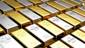 Gold prices flat as dollar steadies, equities tick up