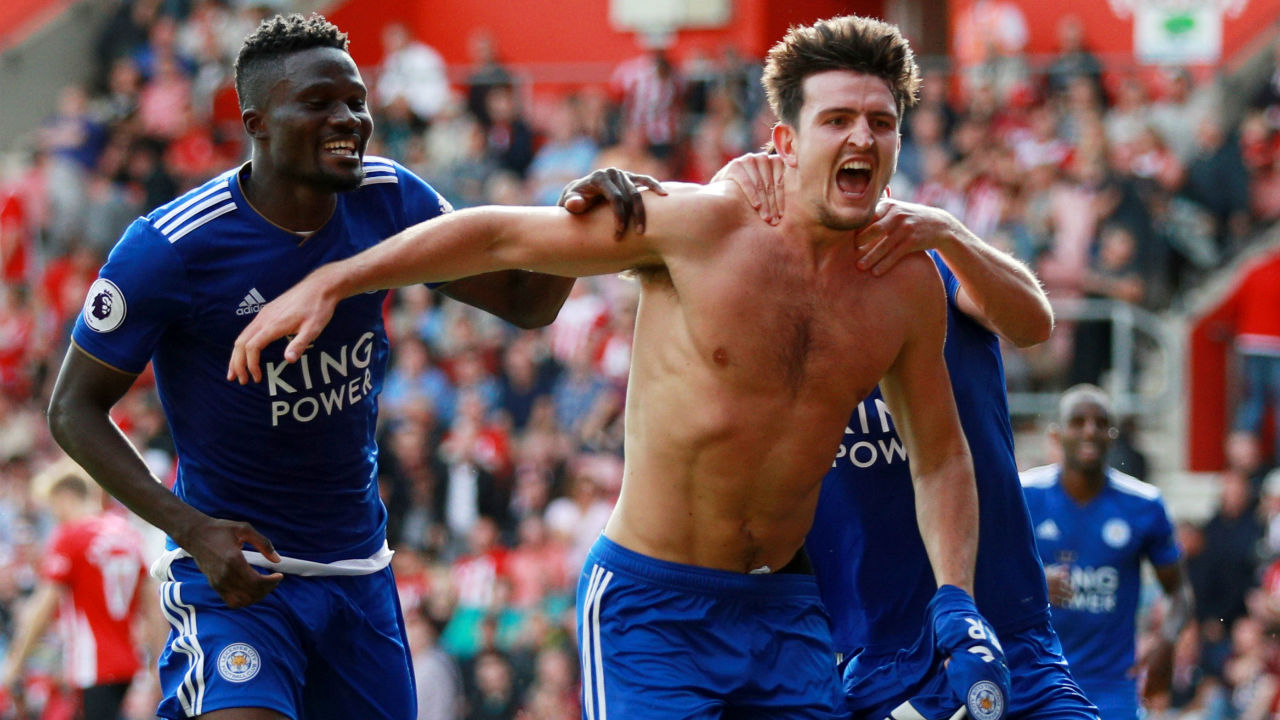 Southampton 1 – 2 Leicester City | Harry Maguire's late winner gave Leicester all three points as they came from behind to beat 10-man Southampton. Ryan Bertrand put the hosts ahead in the 52nd minute only for Demarai Gray to equalise just four minutes later. Southampton were reduced to 10 men in the 77th minute when Pierre-Emile Hojbjerg picked up a second yellow for diving in the Leicester box and the Foxes made full use of their advantage when Maguire fired home from outside the area in the 92nd minute. (Image – Reuters)