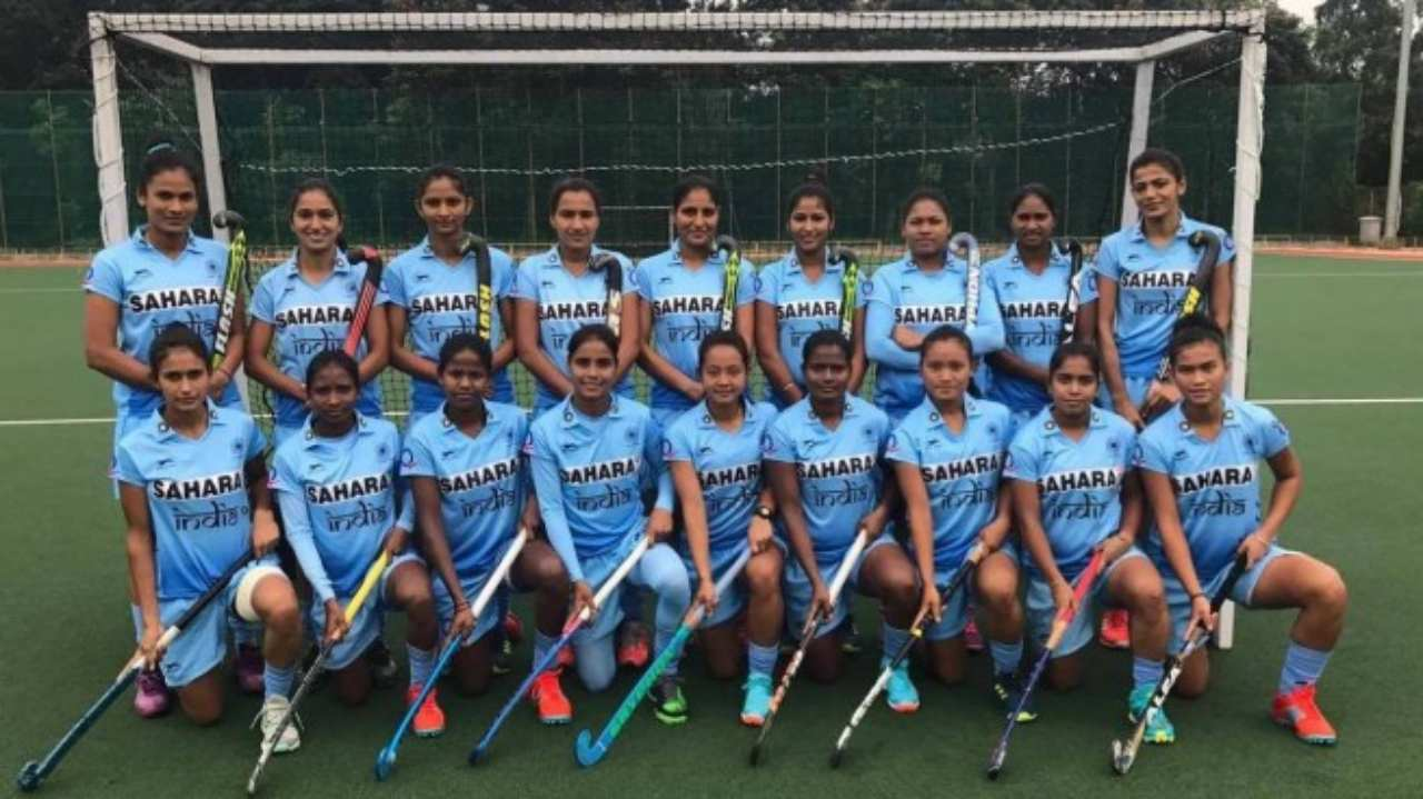 Indian Women's Hockey Team | The team won the 2017 Asia Cup hockey title by defeating China 5-4. With this victory, Indian eves qualified for the 2018 World Cup. (Image: Hockey India)