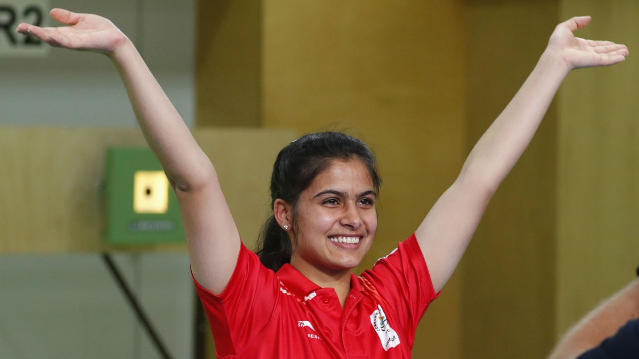 Manu Bhaker | The 16-year-old shooting sensation has an incredible 10 gold medals to her name already. She won gold in the women's 10m air pistol event at the 2018 CWG and followed it up with a gold at the Shooting World Cup in Guadalajara. After winning a medal in every competition she has participated this year, she will be a strong contender in the 10m pistol event while also competing in the 25m event. (Image – Reuters)