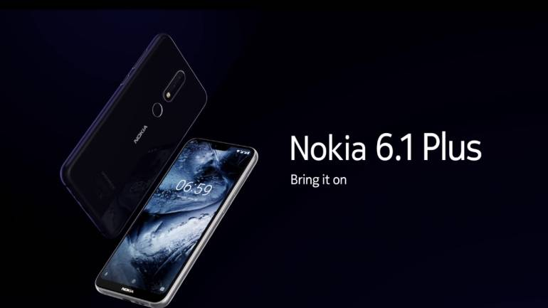 c0b4dd39c HMD Global has unveiled two new models Nokia 6.1 Plus and Nokia 5.1 Plus in  India. The smartphones feature notch display and will be available  exclusively ...