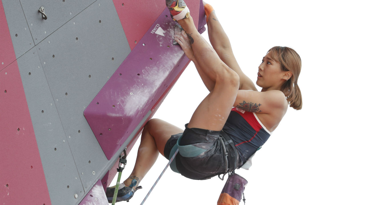 ROCK CLIMBING | This is yet another sport whose inclusion in the Asian Games has been heavily influenced by hosts Indonesia. Climbers use the hand, finger and foot holds to work their way up a near-vertical wall, as their climbing skills and more importantly strength and power in their fingertips comes into play. (Image – AP)