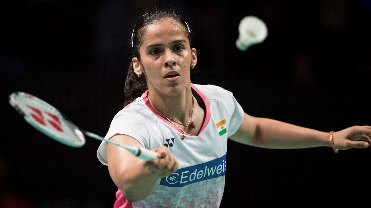 Saina Nehwal | Saina proved her match winning prowess was intact when she made a brilliant comeback to beat Sindhu at the 2018 Commonwealth Games (CWG) finals. Despite struggling with inconsistency following her CWG victory, the ace shuttler will be among medal contenders at Indonesia. (Image – Reuters)