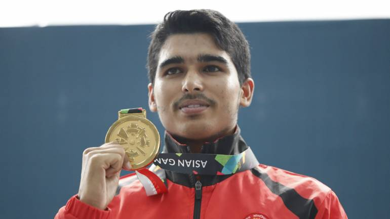 asian games 2018 meet saurabh chaudhary the 16 year old prodigy