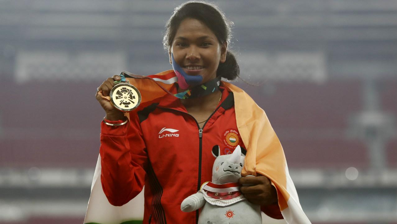 Swapna Barman | Women's Heptathlon (Image - Reuters)