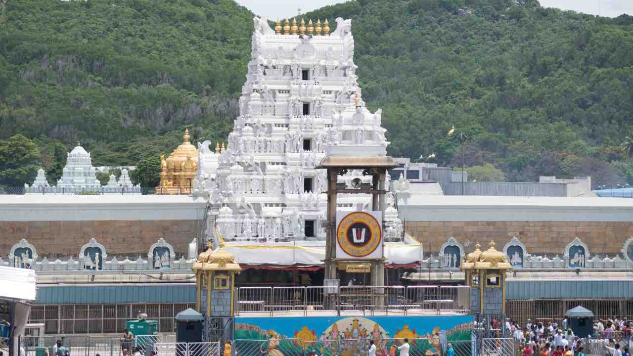 No 4. Tirupati, Andhra Pradesh | Considered one of the holiest Hindu pilgrimage sites due to Tirumala Venkateswara Temple, this city grabs the 4th spot on the list of cities easiest to live in. (Image: WikiMedia Commons)