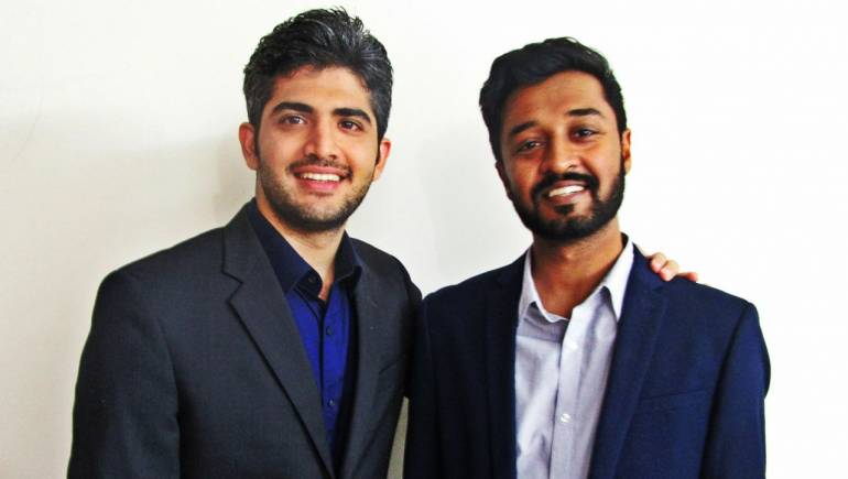 Wishup cofounders Neelesh Rangwani (left) and Vivek Gupta.