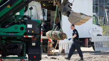 World War II bomb defused in Germany after 18,500 evacuated