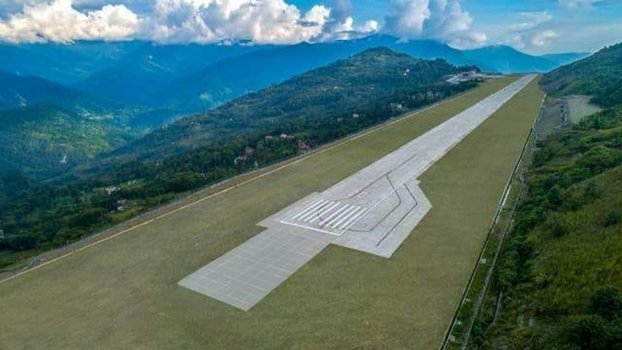 With this airport - the 100th commercial one in the country - all of India's states will have at least one airport. (Image credit: Airports Authority of India)