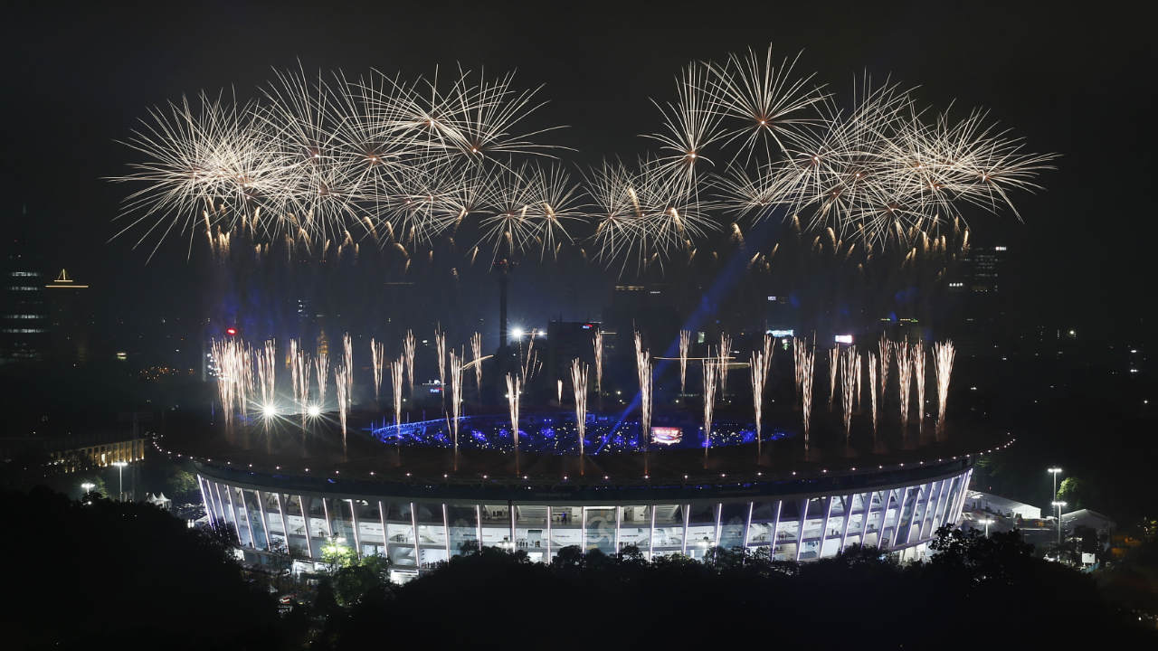 Closing Ceremony of the Asian Games 2018 at the GBK Main Stadium in Jakarta, Indonesia. (Image: Reuters)
