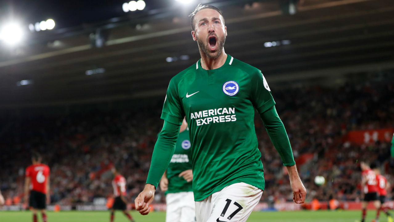 Glenn Murray (Brighton and Hove Albion) | Goals scored - 8| Assists - 0 | Minutes played - 1067| Minutes per goal - 133 (Image: Reuters)