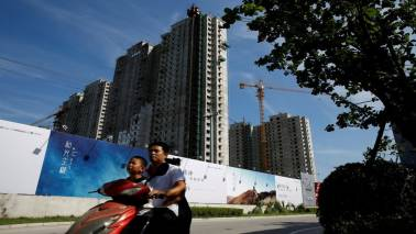 China's property investment weakens in August, sharp fall seen unlikely