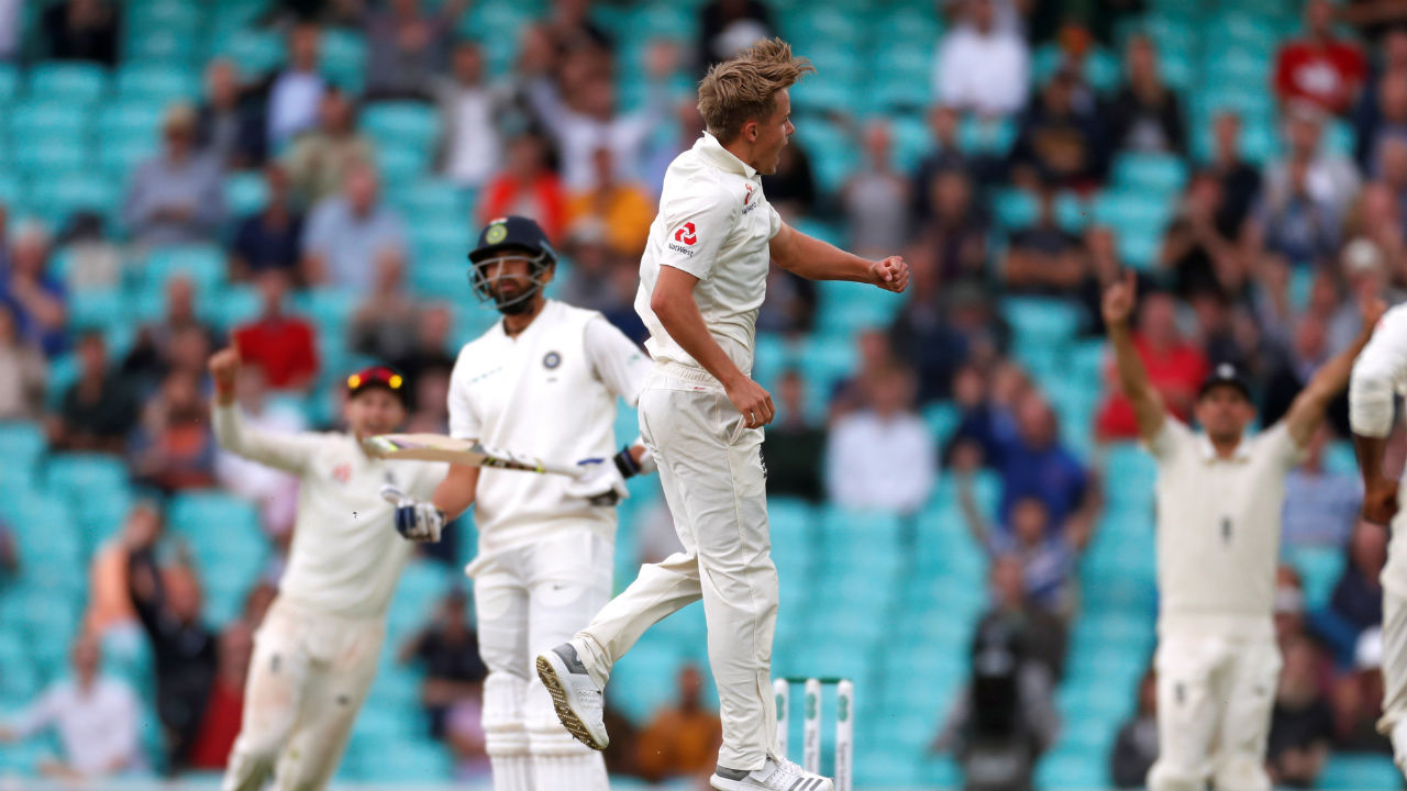 After dismissing both Rahul and Pant, England finally took the new ball in the 90th over with James Anderson and Sam Curran leading the attack. Curran bagged the wickets of Ishant Sharma and Ravindra Jadeja in the 92nd and 94th over respectively to reduce India to 345/9. (Image: Reuters)