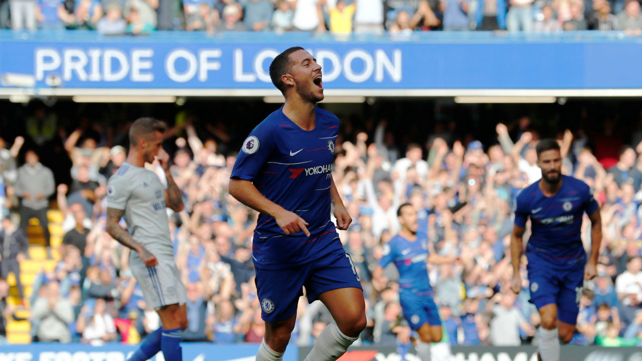 EPL top scorers after game week 5: Chelsea's Eden Hazard scores a hattrick and goes on top with five goals