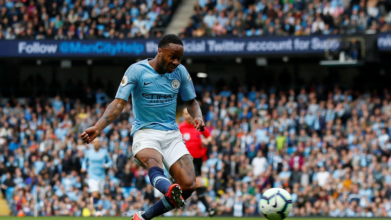 Raheem Sterling (Manchester City) | Goals scored - 3 |Assists - 0 | Hattricks - 0 | Minutes played - 336 | Minutes per goal - 112 (Image: Reuters)