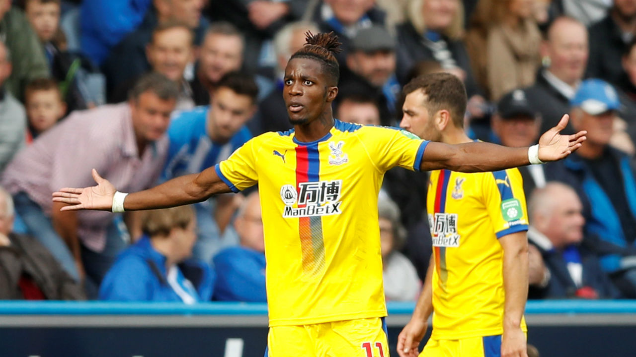 Wilfried Zaha (Crystal Palace) | Goals scored - 3 | Assists - 0 | Hattricks - 0 | Minutes played - 360| Minutes per goal - 120 (Image: Reuters)