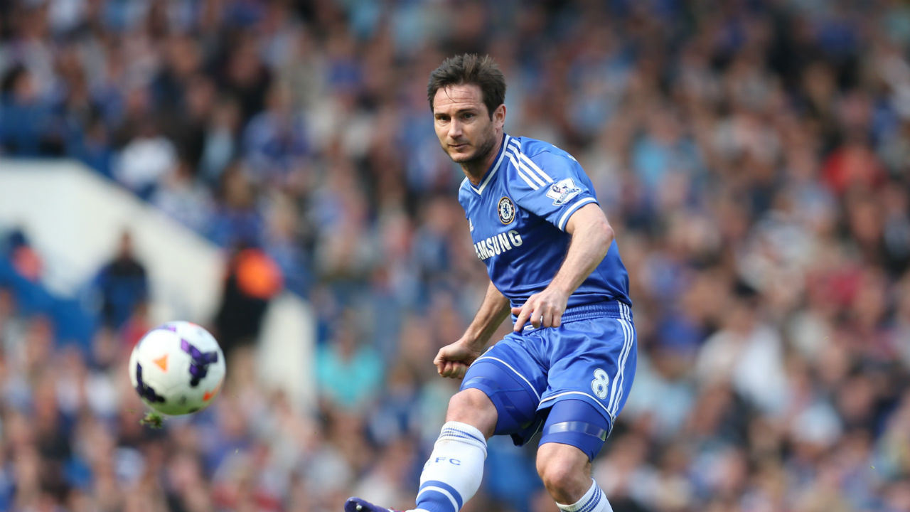 Frank Lampard has 177 goals as a midfielder. An unbelievable amount for a non-striker. The second highest scoring midfielder is Dwight Yorke with 123 goals. (Image - Reuters)
