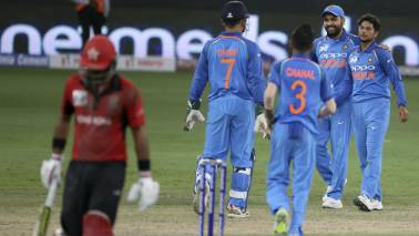 IND vs HKG Asia Cup 2018 Higlights: India win by 26 runs as Khaleel Ahmed takes 3 wickets on debut