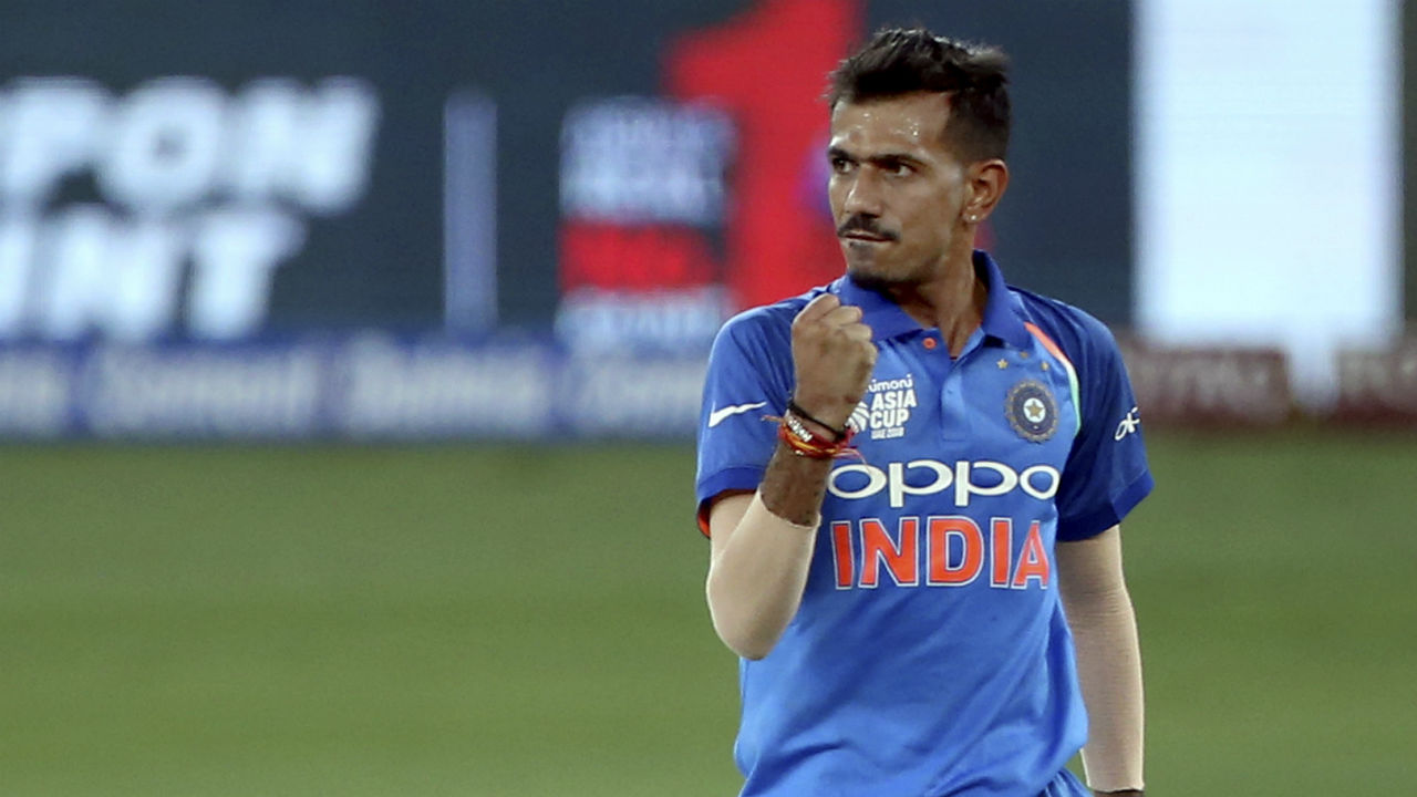 Yuzvendra Chahal took the sixth wicket of Pakistan innings when he castled Asif Ali with a googly in the 45th over. Bumrah then clean bowled Shadab Khan in the 50th over as Pakistan managed a score of 233/7. (Image: AP)
