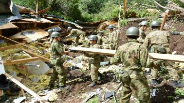 Japan toll 44 after strong quake, no more missing