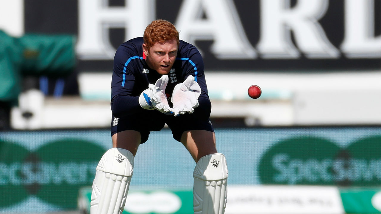 Jonny Bairstow | Jonny Bairstow has fully recovered from his injury which he sustained while keeping the wickets in the third Test at Trent Bridge. Although, Jos Buttler did a decent job as a stand in keeper in the fourth Test at The Rose Bowl, England skipper declared on the eve of the Test that Bairstow will keep wickets in the Test. Some runs would be expected from the wicketkeeper. (Image - Reuters)
