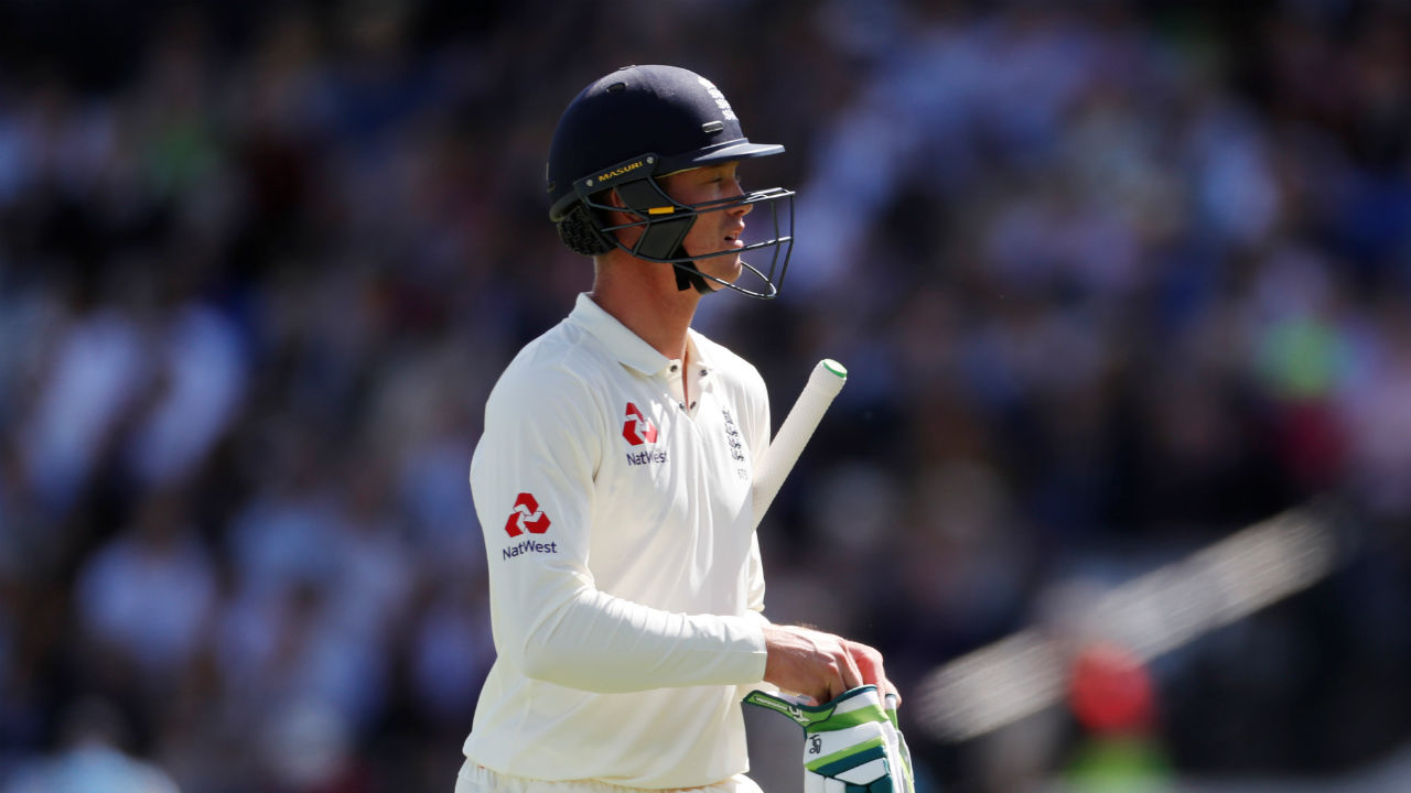 Keaton Jennings | Keaton Jennings started in all the previous four Tests as opener. But he has failed to live up to the expectations. The left handed batsman has manged only 130 runs from the seven innings at an average of 18.57. This Test match in all probability could be his last chance to impress the selectors and save his career. (Image - Reuters)